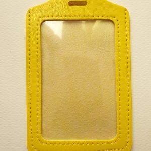 Жълт вертикален панел за карта